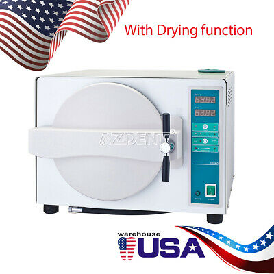Usa 18 L Steam Sterilizer Automatic Wdrying Function Dental Lab Equipment