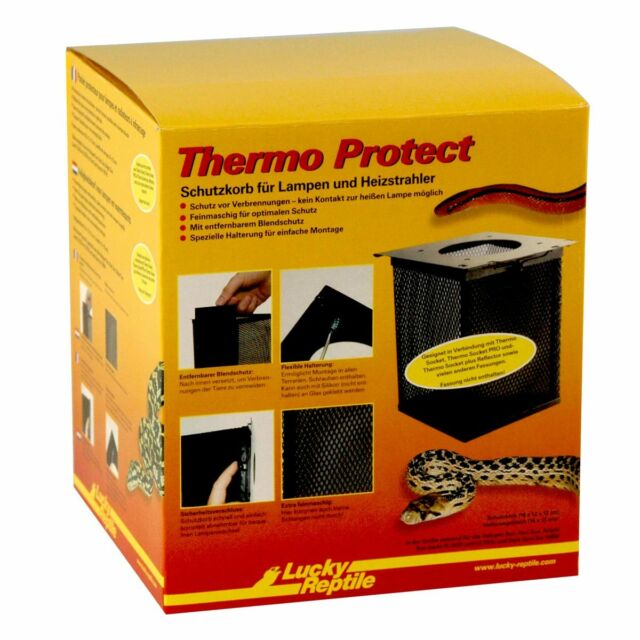 Lucky Reptile Thermo Protect Basket 12x12x16, 5cm lampenschutzkorb