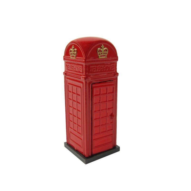 1:24 Gauge British UK Phone Box G Scale Model Train Accessory Pencil Sharpener