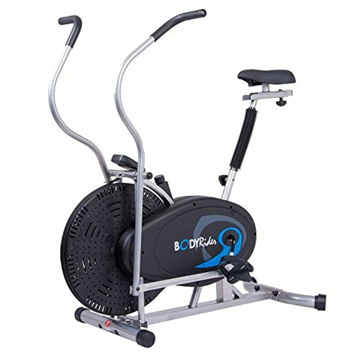 Body Rider Body Flex Sports Upright Exercise Fan Bike: Indoo