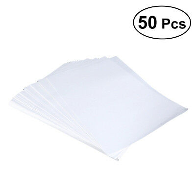 50pcs A4 Sublimation Paper Heat Press Transfer Paper T-shirt For Inkjet Printer