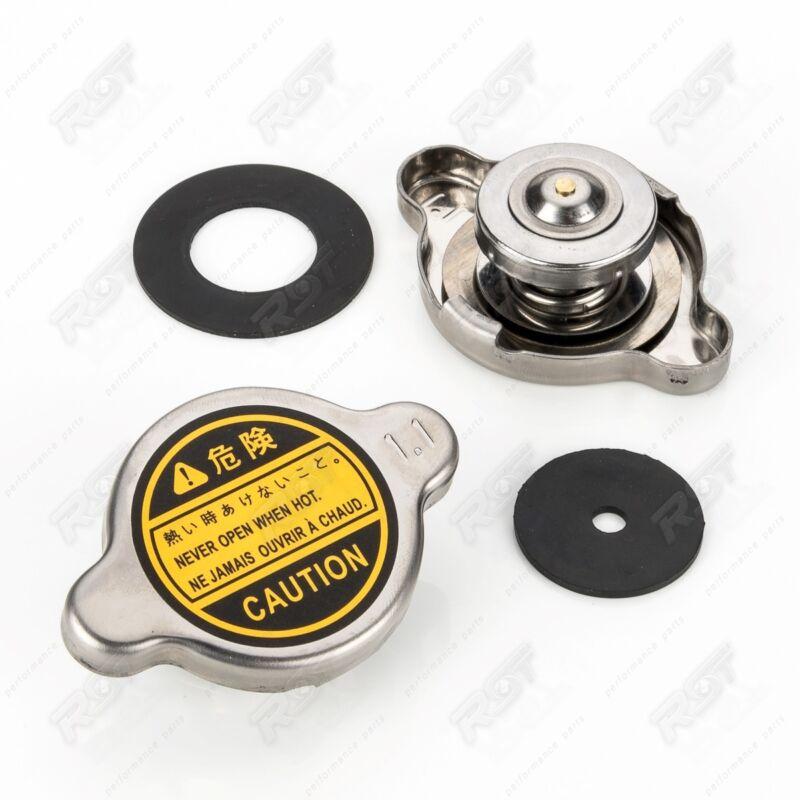 2x Radiator Cap Sealing Cap Screw Fitting 1.1 Bar for Honda Ford Lexus VAUXHALL