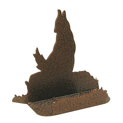Coyote Copper Vein Metal Business Card Holder