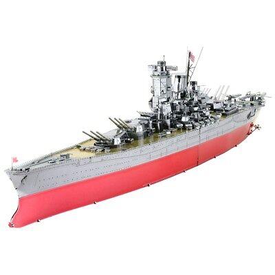 Fascinations ICONX Yamato Battleship 3D Laser Cut Metal Eart