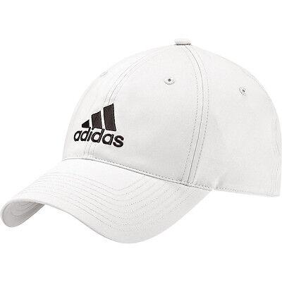 adidas Basecap Performance Cap weiß verstellbare Baseball-Kappe Schirmmütze NEU