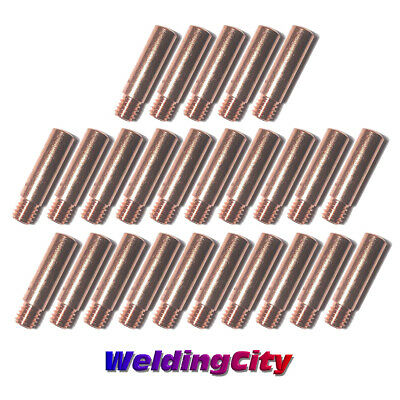 Weldingcity 25-pk Mig Welding Gun Contact Tip 11-30 For Tweco Mini Lincoln 100l