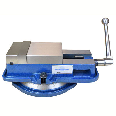 5 Inch High Precision Milling Vise Wswivel Base Knee Mill Or Bench Mill