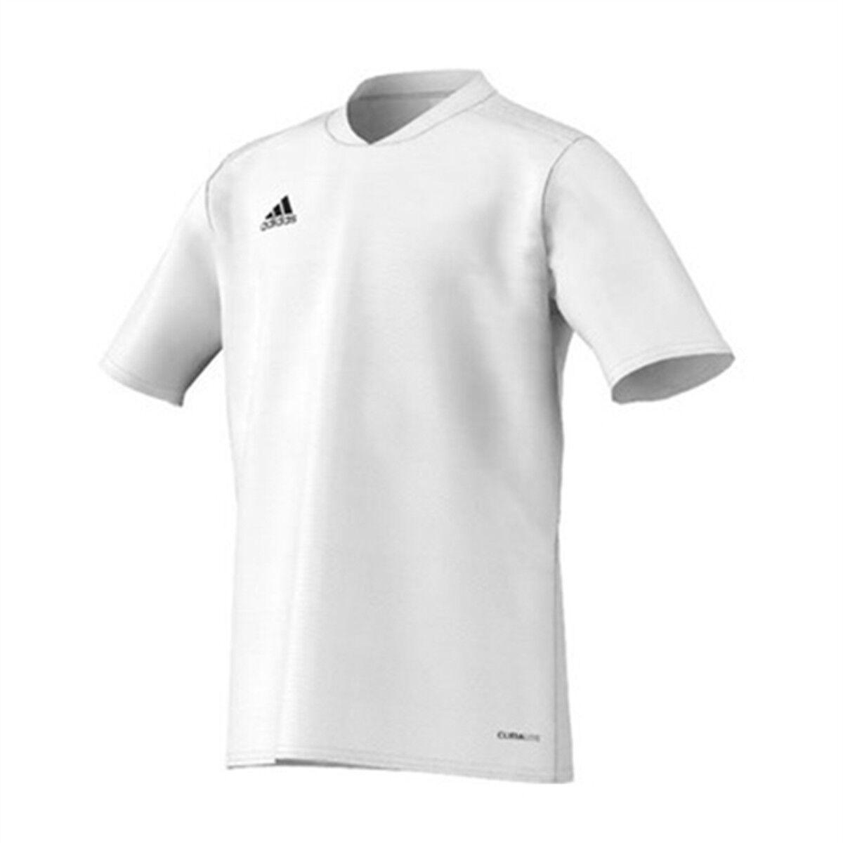 Adidas Kids Youth Tabe 11 Jersey White Short Sleeve T-Shirt