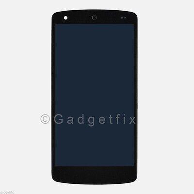 Black Lg Google Nexus 5 D820 D821 Lcd Display Digitizer Touch Screen Matte Frame
