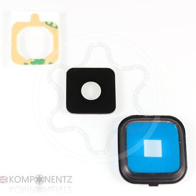 Replacement Black GLASS Camera Lens Frame Cover for Samsung Galaxy Note 4 N910F