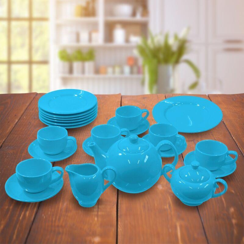 Colby Deluxe Porcelain Tea Set