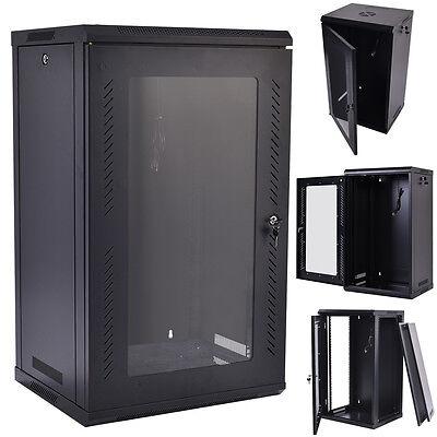 15u Wall Mount Network Server Data Cabinet Enclosure Rack...