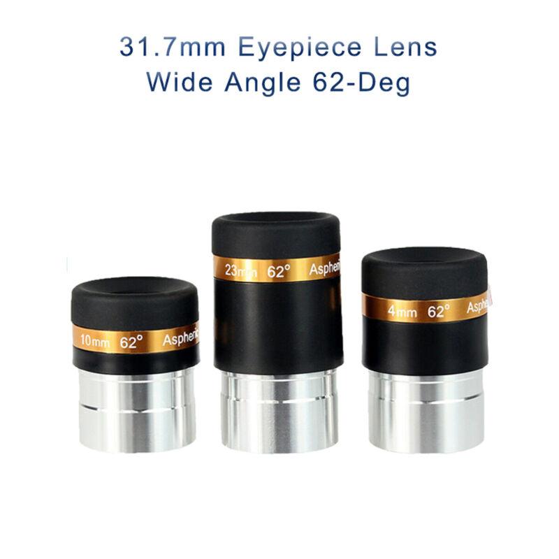 "SVBONY 1.25"" 4/10/23mm Telescope Lenses Eyepiece Wide Angle 62-Deg Fully Coated"