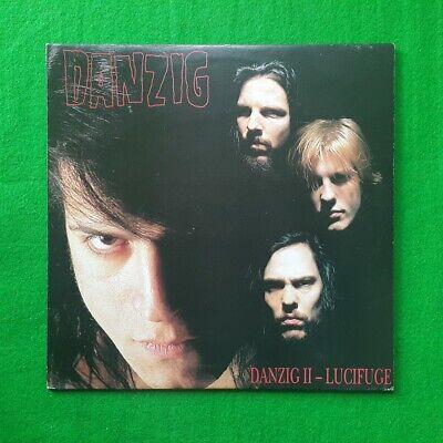 Danzig II - Lucifuge korea lp vinyl record Monochrome Back Cover EX+ to NM-