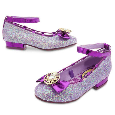 Disney Tangled Shoes (NWT Disney Store Rapunzel Costume Shoes Tangled The Series 7/8 9/10)