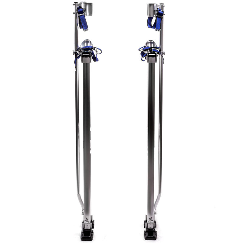 Aluminum Stilt Adjustable Drywall Painting Stilts Painter Taping Tool 46-64 Inch