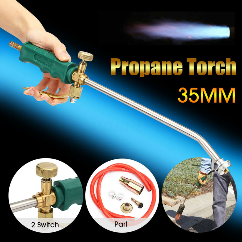 Propane Torch Nozzle Ice Melter Weed Burner Welding Flame Lighter Kit 47.2