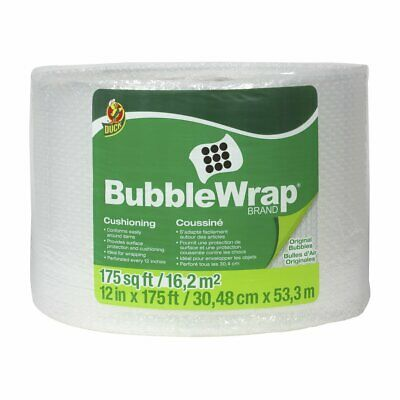 Duck Brand Bubble Wrap Roll Original Bubble Cushioning 12 X 175 Perforated ...