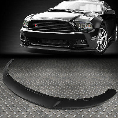 - FOR 2013-2014 FORD MUSTANG RP STYLE FRONT BUMPER LIP LOWER SPOILER WING BODY KIT