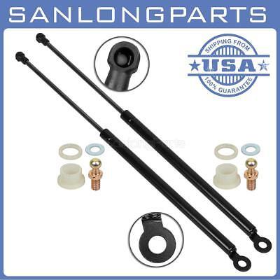 2 Rear Hatch Lift Support Gas Strut Shock Springs Prop Fits 88-91 Honda CRX 4611 (Honda Hatch Strut)