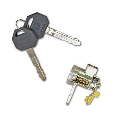 ISUZU D-MAX 02-10 LOCKSET LEFT RIGHT FRONT DOOR LOCK BARREL WITH KEYS