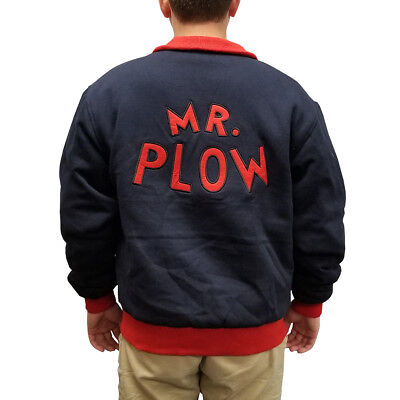 Mr. Plow Jacket Homer Simpson Simpsons Snow Removal Coat Costume Cosplay My Name