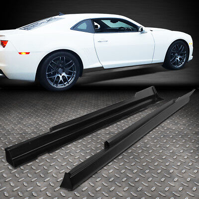 1 Style Body Kit (FOR 2010-2015 CHEVY CAMARO ZL1 STYLE PAIR SIDE SKIRTS PANEL EXTENSION BODY)
