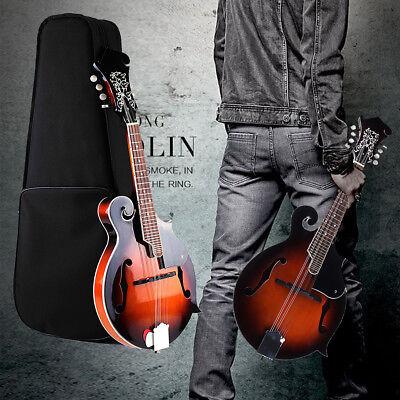 F-Model 8 String Mandolin 24 Fred Acoustic Instrument Tobacco Sunburst W/ Case