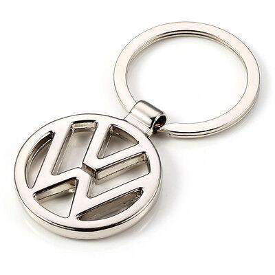 NEW hot Volkswagen Car logo KeyRing STAINLESS CAR LOGO FOB  KEY RING KEY CHAIN