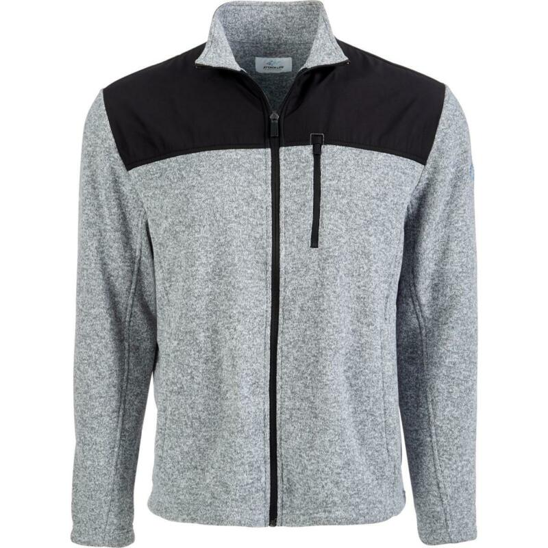 Attack Life by Greg Norman Mens Stretch Colorblock Athletic Jacket BHFO 1997