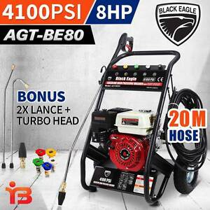 Black Eagle 8HP 4100psi Pressure Washer Cleaner with 20M Hose Fairfield Fairfield Area Preview