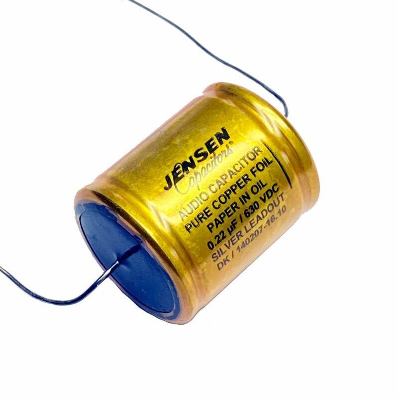 Jensen Copper Foil Paper In Oil Capacitor .22 uF 630v
