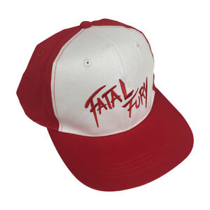 Fatal Fury Baseball Cap Terry Bogard Hat Video Game Series The King of Fighters