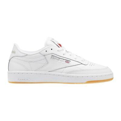REEBOK CLASSICS Club C 85 Trainers Size 7.5 EU 41 White Leather...