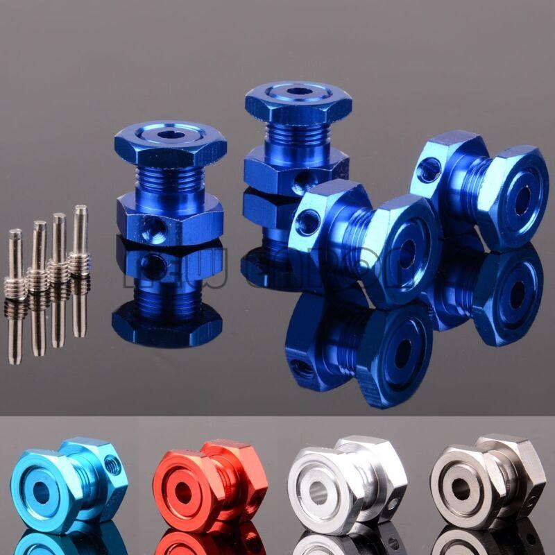 ALUMINUM 17mm HEX NUTS hubs FOR RC TRAXXAS 1/10 REVO 2.5 3.3 E-REVO