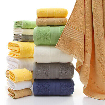 Luxury Soft 100% Cotton Towels Best Bathroom Gift Face | Hand | Bath Towels