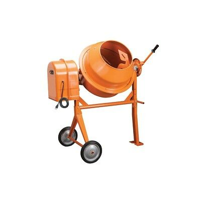 3-12 Cubic Ft. Portable Solid Steel Stucco Mortar Cement Mixer