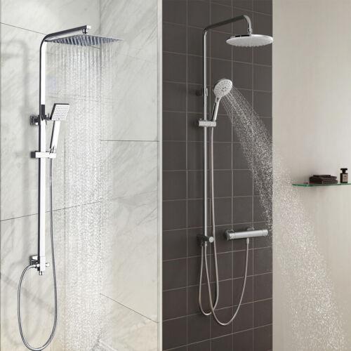 DE Duschsystem Regendusche Duschset Brausegarnitur Handbrause Kopfbrause Bad