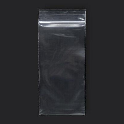 1000 Qty 3 X 6 Reclosable Clear Plastic Zipper Bags 2 Mil
