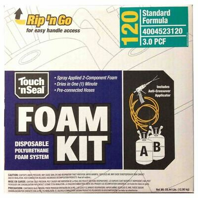 Touch N Seal Spray Foam Roof Insulation Kit 3.0 Pcf Closed Cell Foam - 120 Bf
