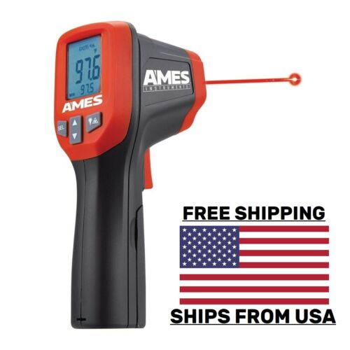Ames® Temperature Gun Non-Contact Digital Laser Infrared IR Thermometer USA SHIP