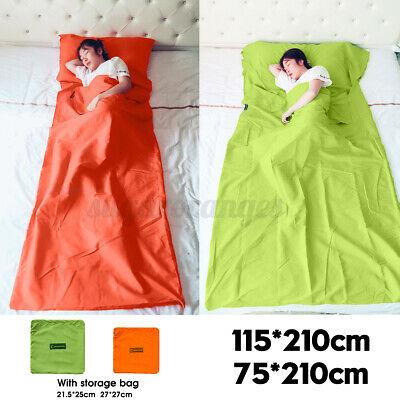 Lightweight Envelope Sleeping Bag Pad Camping Tent Air Mattr