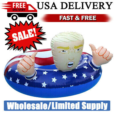 Pool Float Donald Trump American Flag Pool Inflatable Swimming Floats 42 -