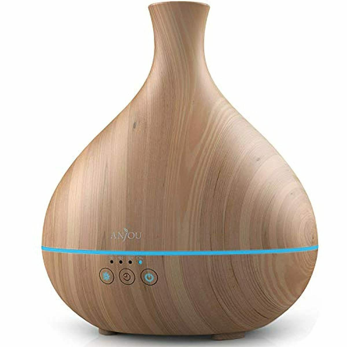 Essential Oil Diffuser, Anjou 500ml Cool Mist Humidifier W..