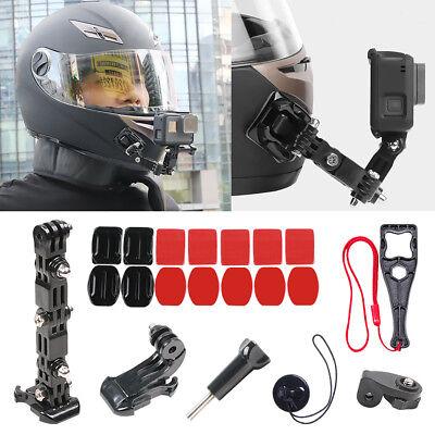 Supporto per mento frontale per casco adesivo 20 pezzi per Gopro Hero 7 6 5 4 3