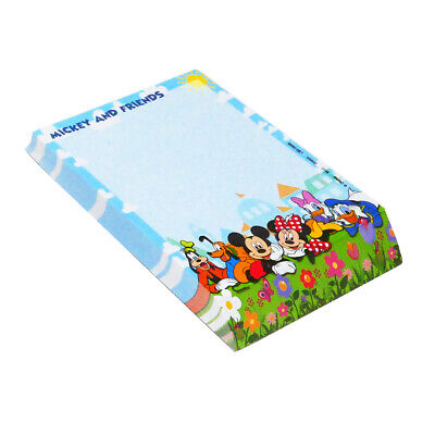 Disney Mickey Mouse And Friends Blue Deluxe Memo Notepad