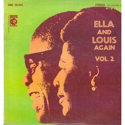 Ella Fitzgerald / Louis Armstrong LP Vinilo And Otra Vez Volumen 2...