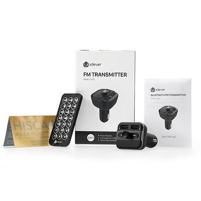LCD Bluetooth FM Transmitter Car Kit Charger Handsfree MP3 Player Dual USB Port