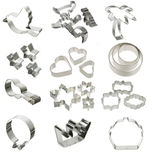 Stainless Steel Cookie Cutter Mold Fondant Biscuit ...