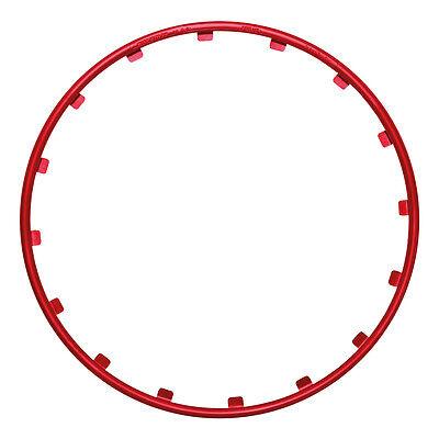 """Wheel  Protector - Rim Ringz 19"""" Red"""